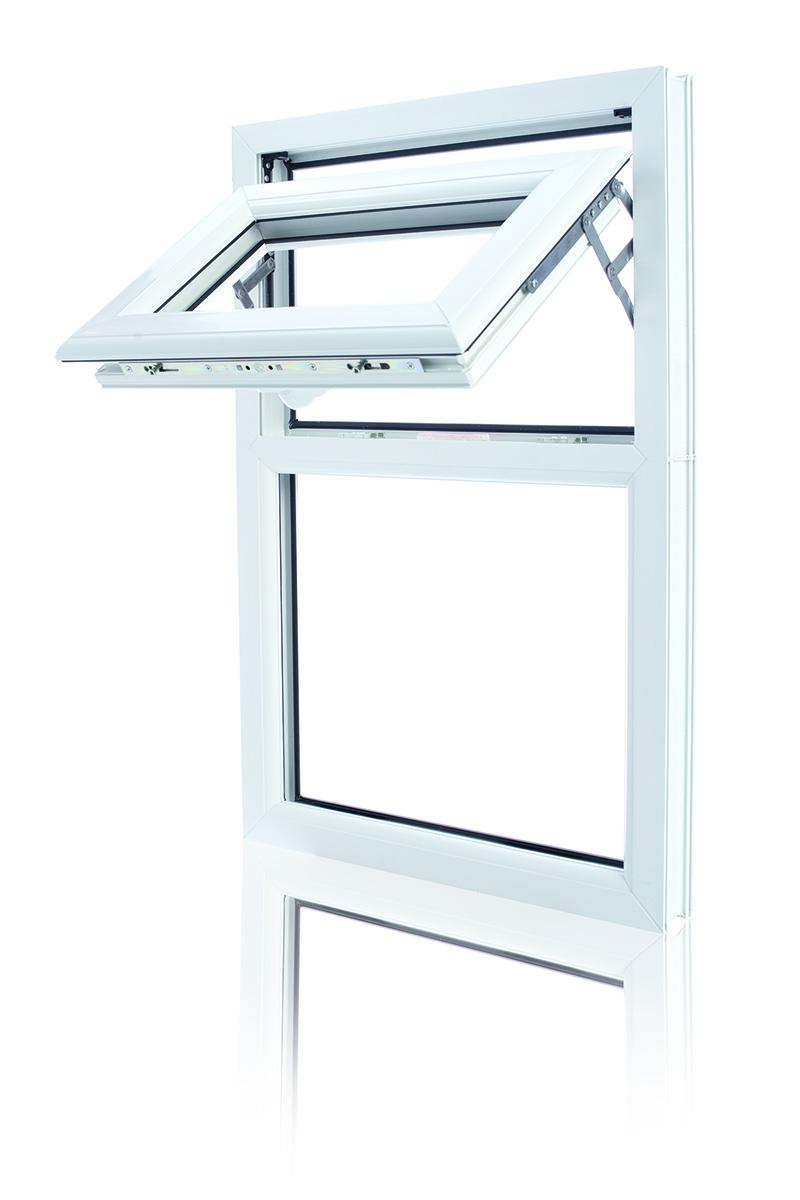 White Casement UPVC Window